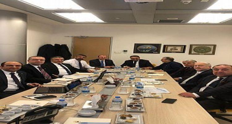 Yönetim Kurulu Başkanımız Mustafa USLU TOBB da düzenlenen Tarım Kurulu toplantısına katıldı