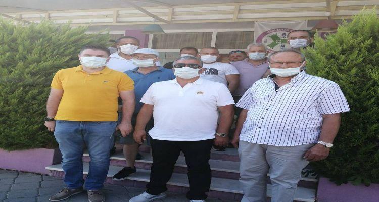Yaşar Karaosmanoğlu ziyareti
