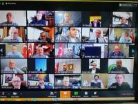 TOBB başkanı Rıfat Hisarcıklıoğlu Karadeniz oda/Borsa başkanları ile canlı telekonferans gerçekleştirdi