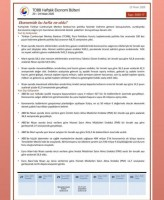 20-24 Nisan 2020 TOBB Ekonomi Bülteni