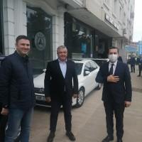 Ünye kaymakamı Ayhan Işık Borsamıza iadei ziyarette bulundu.Ziyarette Yönetim Kurulu Başkanımız Mustafa Uslu ve Meclis Başkanımız Erhan Aydın bulundu.