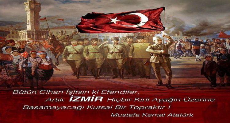 9.Eylül.İzmir'in Kurtuluşu kutlu olsun.