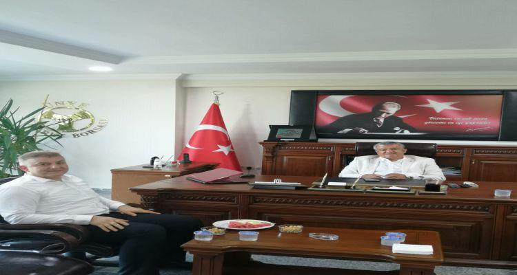 AK Parti Ünye İlçe Başkanından Borsamıza Ziyaret