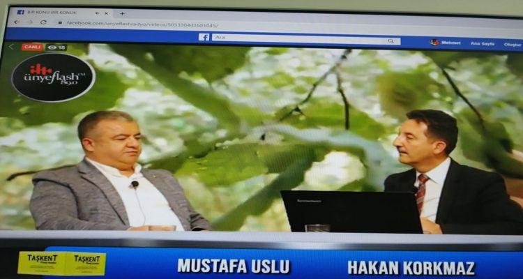 Başkanımız Mustafa USLU, katıldığı radyo programında fındığı genel anlamda değerlendirdi.