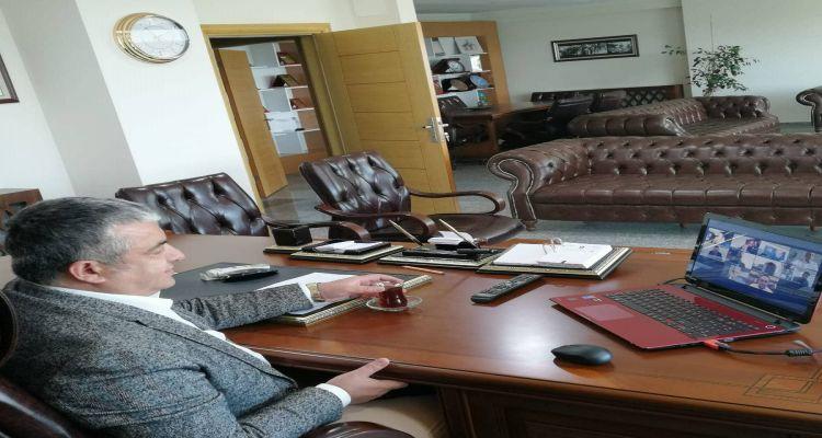 Başkanımız Mustafa Uslu TOBB Tarım Kurulu toplantısına katıldı
