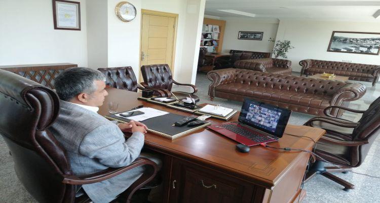 Başkanımız Mustafa Uslu toplantıya katıldı
