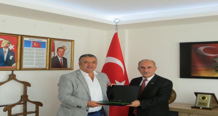 Borsa başkanımız Mustafa USLU, Ordu TMO Şube Müdürlüğünü ziyaret etti