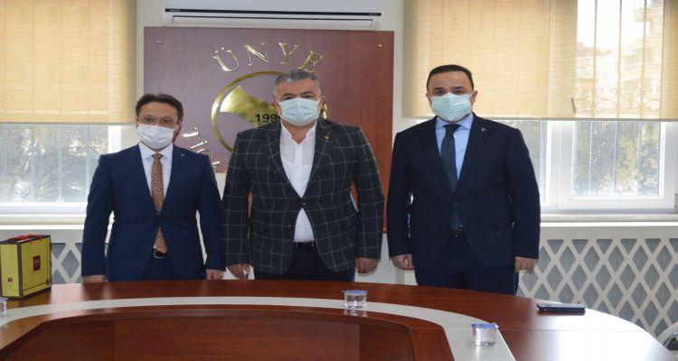 Ordu MHP İl Başkanının Borsamızı ziyareti.