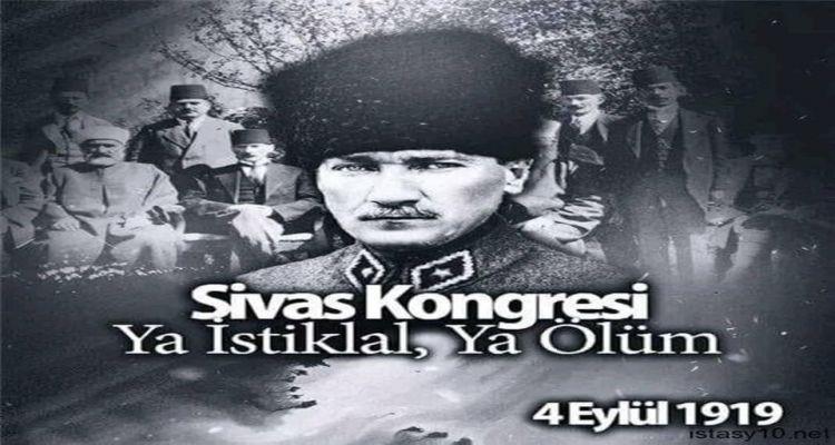 Sivas Kongresinin 101 yılı kutlu olsun.