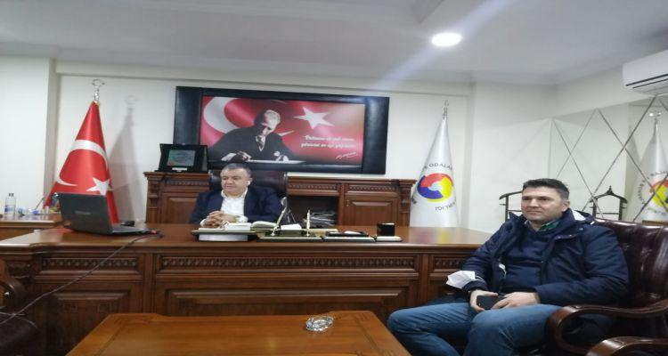 TOBB Başkanı Rifat HİSARCIKLIOĞLU, Ordu ve ilçelerinin Oda/Borsa başkanları, meclis üyeleri ile bir araya geldi