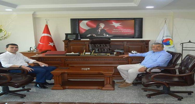 Ünye Cumhuriyet Başsavcısı Melih Aladağ'dan Borsamıza veda ziyareti