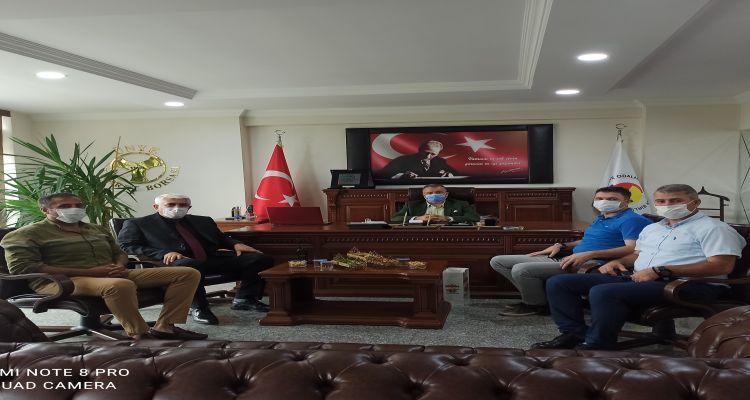 Ünye Emniyet Müdürü İrfan KORKMAZ'dan Borsamıza İadei Ziyaret