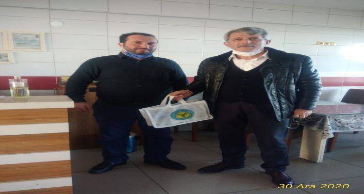 Yılbaşı hediyelerimizin dağıtımı Genel Sekreterimiz tarafından yapıldı